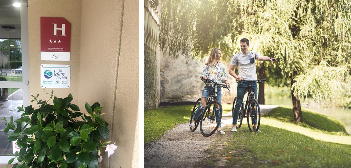 hôtel loire à vélo