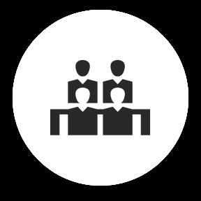 pictogramme groupe de personnes