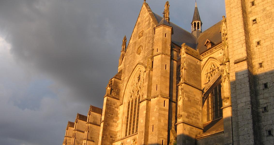 La basilique de Cléry Saint André et le tombeau de Louis XI